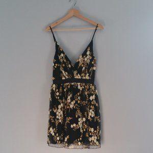 Express Spaghetti Strapped Floral Print Dress Sz 2